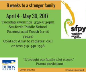 A 9 week program to build stronger family connections1