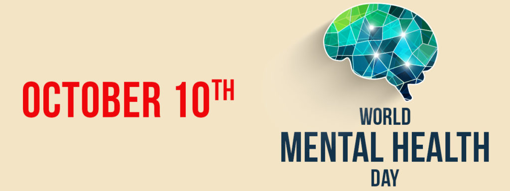 October 10, World Menatl Health Day, Brain
