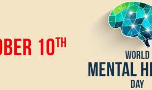 October 10, World Menatl Health Day, Brain